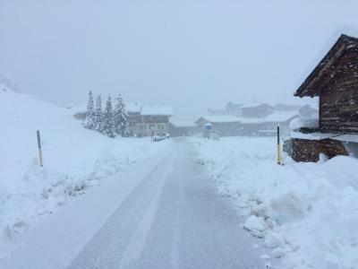 Schnee Flachland