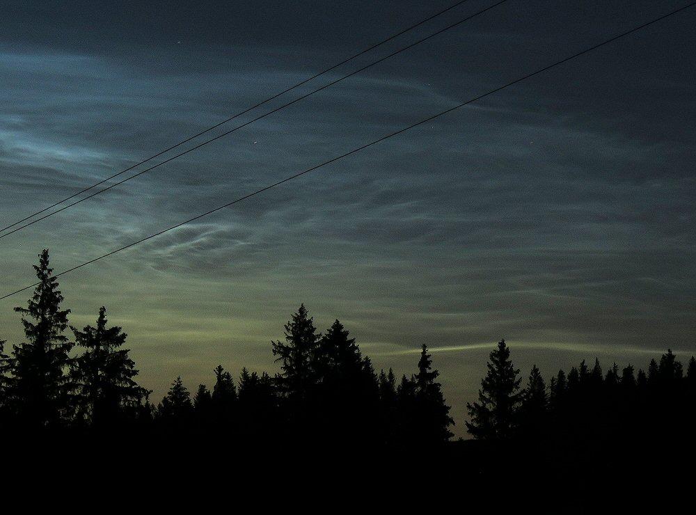 Leuchtende nachtwolken 2019